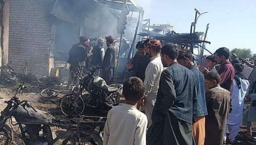 آتش سوزی در کیاسر فاریاب منجر به کشته شدن یک و چهار نفر شد