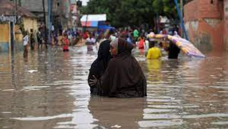 ده ها هزار نفر در سومالی به دلیل سیل آواره شدند