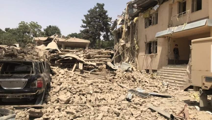یک بمب اتومبیل در اداره پلیس منطقه بلخ در استان بلخ منفجر شد