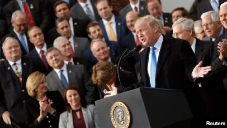 ترامپ با سخنرانی در کنفرانس جمهوری خواهان به سیاست بازگشت