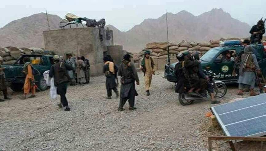 ولسوالی دولت آباد فاریاب به دست طالبان افتاده است