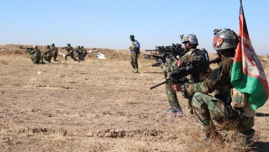 ارتش افغانستان در جنگ آمریکا در آتش سوخت
