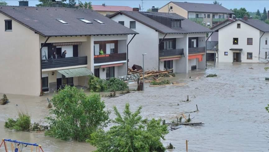 سیل در آلمان باعث کشته شدن حداقل 9 نفر شده است
