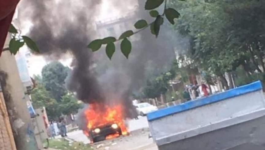 همزمان با اقامه نماز عید سعادت چند موشک به کاخ ریاست جمهوری اصابت کرد