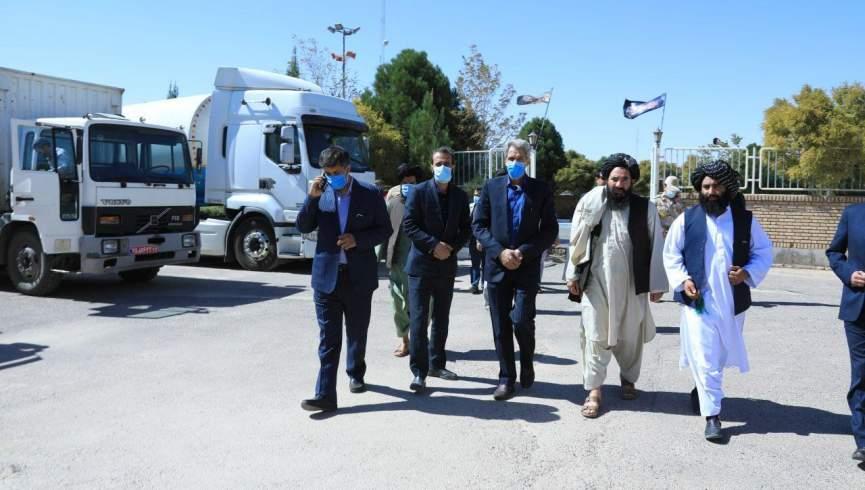 چهارمین محموله کمک های ایرانی دیروز به مقامات هرات اهدا شد